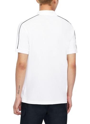 Armani Exchange  Pamuklu Polo T Shirt Erkek Polo S 6Hzfab Zju3Z 1100 Beyaz